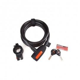 Катинар с ключ Cox Spiral Cable Lock 12/1500 Аксесоари