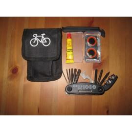 Мини инструменти с репарационен комплект за гуми Аксесоари