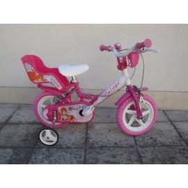 """Детски велосипед 12"""" Dino 124RL-Winx Велосипеди"""