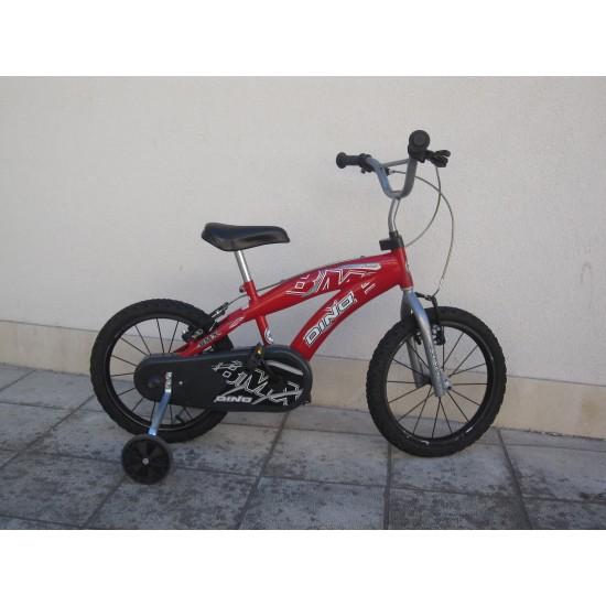 """Детски велосипед 16"""" Dino 165XC -BMX Велосипеди"""
