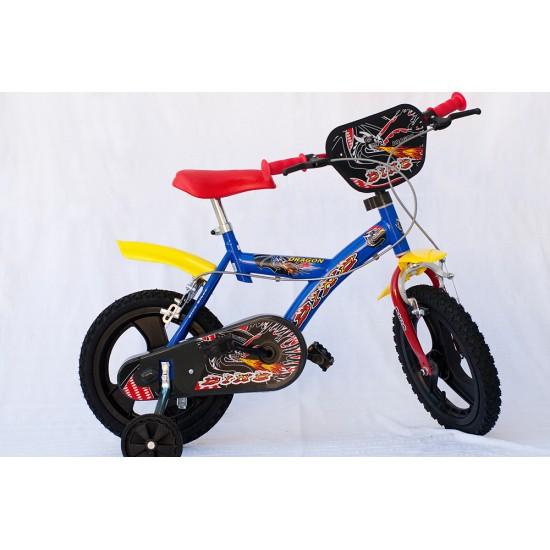"""Детски велосипед 14"""" Dino 143 GLN Велосипеди"""