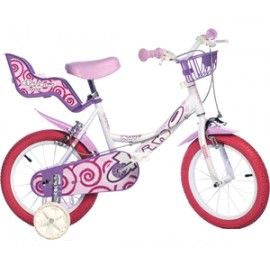"""Детски велосипед 14"""" Dino 144RN Велосипеди"""